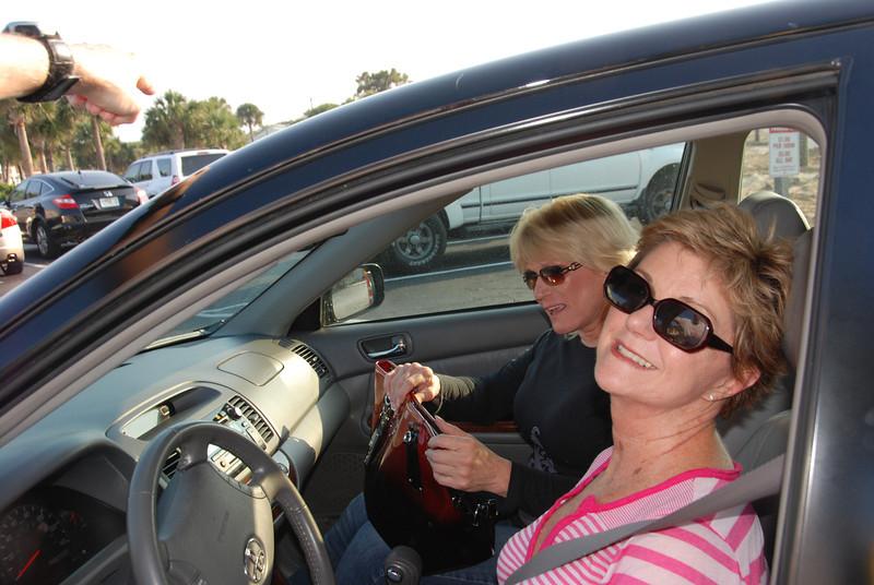 Susan Bradshaw and Cheryl Clapper Roberts