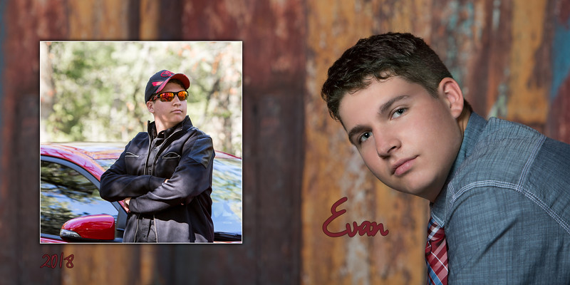 Evan Senior Photobook