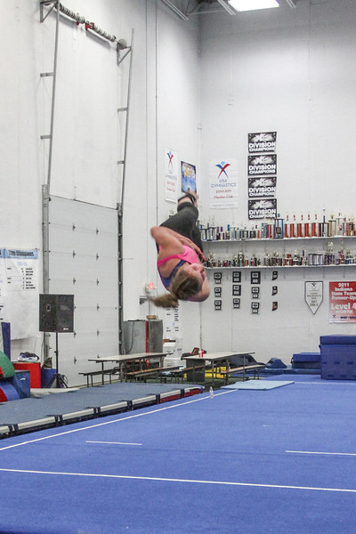 Morgan Senior Pics Gym and Awards