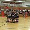 Video from Cactus Varsity Volleyball at Thunderbid - 9-11-12 - Team Cheer
