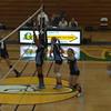 Cactus Varsity Volleyball vs Greenway - Game 3 - 8-28-12