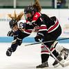 Girls Varsity Hockey: Needham defeated Wellesley 6-0 on December 16, 2015, at Babson College in Wellesley, Massachusetts.
