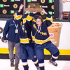 Girls Varsity Hockey: Notre Dame defeated Wellesley 3-1 in the MIAA Girls Division 2 State Championship, at the TD Garden on March 20, 2016, in Boston,  Massachusetts