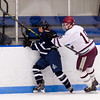 Boys Varsity Hockey: Framingham defeated Dedham 5-1 on December 17, 2015, at Noble & Greenough in Dedham, Massachusetts.