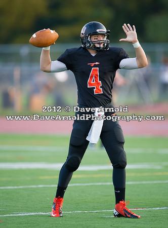 Acton-Boxborough Varsity Football defeated Wayland 18-17 on October 5, 2012, at Wayland High School in Wayland, Massachusetts.