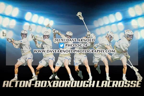 Boys Varsity Lacrosse: Acton-Boxborough defeated Concord-Carlisle 8-7 on May 21, 2019 at Acton-Boxborough in Acton Massachusetts, Massachusetts.