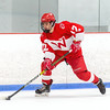 Boys Varsity Hockey: Waltham defeated Andover 1-0 on January 18, 2019 at the Breakaway Ice Center in Tewksbury, Massachusetts.