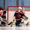 Girls Varsity Hockey: Andover defeated Winchester 3-1 on February 18, 2020 at Pilgrim Arena in Hingham, Massachusetts.