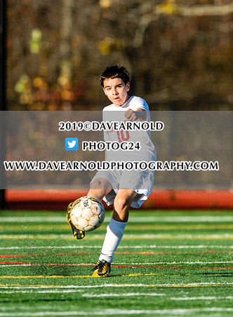 Boys JV Soccer:  Austin Prep defeated Innovation Academy 3-0 on October 24, 2019 at Austin Prep in Reading, Massachusetts.