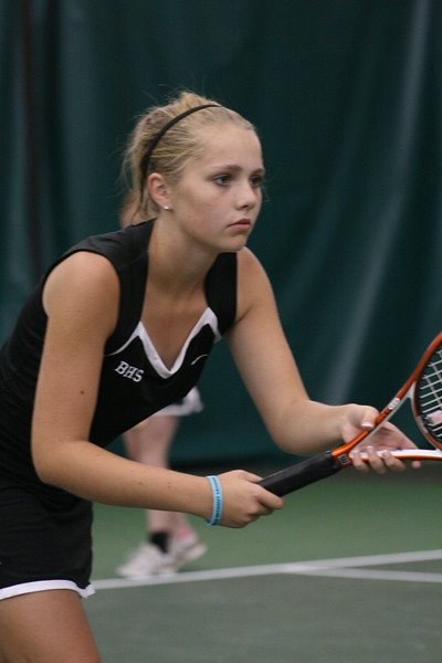 BHS GIRLS TENNIS 10-18-11