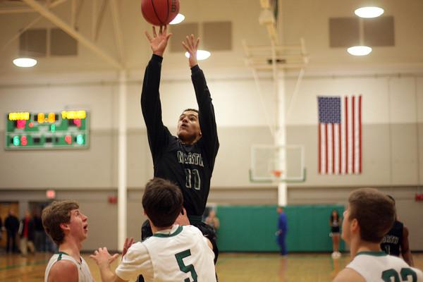 NN boys basketball travels to Bishop McGuinness