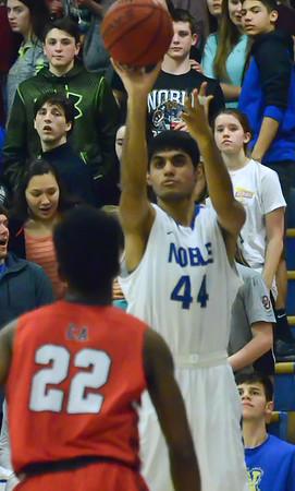 Noble Boy's Basketball vs Carl Albert