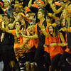 Norman High students cheer on the boy's basketball team as they take on Norman North Friday night during Clash basketball at NHS.<br /> Transcript Photo by Kyle Phillips
