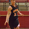 Norman High forward Taylor Ely dribbles the ball down the court Thursday  during the Tigers' game at the Del City Holiday Basketball Tournament.<br /> Transcript Photo by Kyle Phillips
