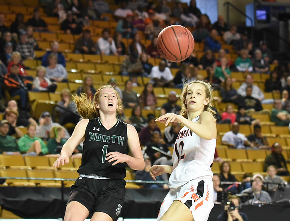 Norman High vs Norman North State Basketball