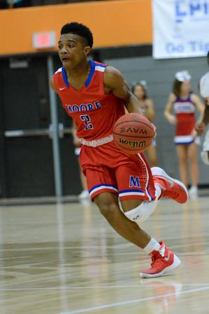 Norman High v Moore High boy's basketball