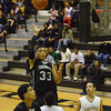Norman North sophomore Payton Prince shoots a floater during North's opening-round playoff loss to Midwest City on Friday, Feb. 24. Prince finished with 11 points and five rebounds.