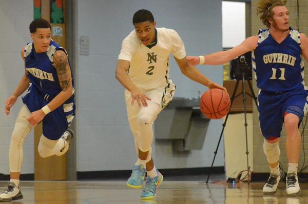 Norman North Boys Basketball vs Guthrie