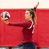Girls Varsity Volleyball: Melrose defeated Belmont 3-0 on October 2, 2018 at Melrose High School in Melrose, Massachusetts.