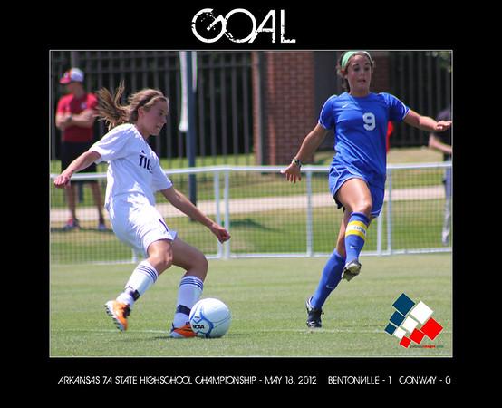 Bentonville Girls Soccer State Championship 2012