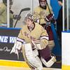 Boys Varsity Hockey: Malden Catholic tied BC High 2-2 on January 31, 2016, at UMass Boston School in Boston, Massachusetts.