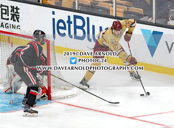 MIAA Division  1A (Super 8) Championship: BC High defeated Pope Francis 2-1, in the fourth overtime period, on March 17, 2019 at TD Garden in Boston, Massachusetts.