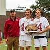 Boys Varsity Lacrosse: BC High defeated Acton-Boxboro 16-3  to win the MIAA 2018 Division 1 State Championship on June 24, 2018 at Nickerson Field in Boston, Massachusetts.