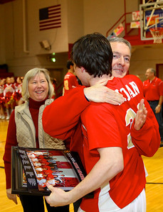 Judge Memorial BB vs Union 2-1-2013. Sean Sloan (30) & Family