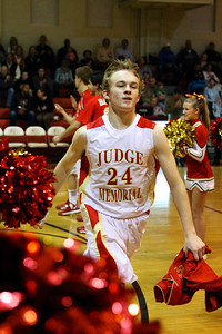 Judge Memorial BB vs Union 2-1-2013. Joe Cramer (24)