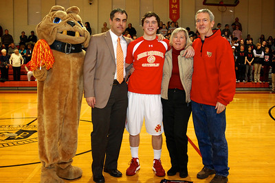Judge Memorial BB vs Union 2-1-2013. Sean Sloan (30) & Family,