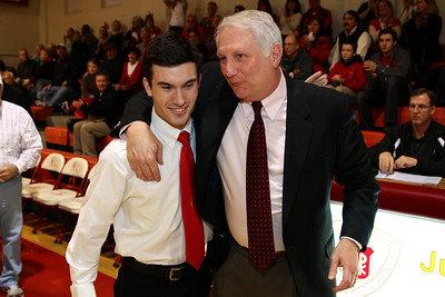 Judge Memorial BB vs Union 2-1-2013. Louis Franciose & Coach Marty Giovacchini