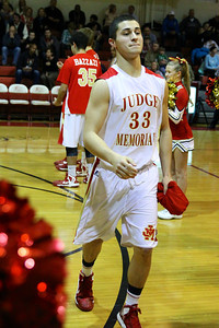 Judge Memorial BB vs Union 2-1-2013. Tyler Wilkerson (33)