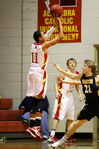 Judge Memorial BB vs Wasatch 1-9-2013. Terrell Young (11)