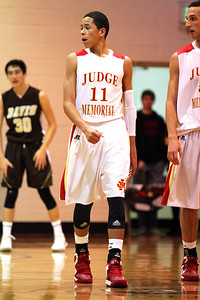 Judge Memorial BB vs Davis 12-31-2012. Terrell Young (11)