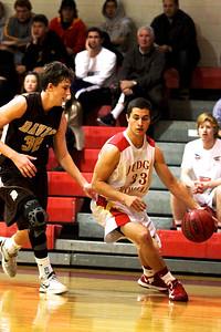 Judge Memorial BB vs Davis 12-31-2012. Tyler Wilkerson (33)
