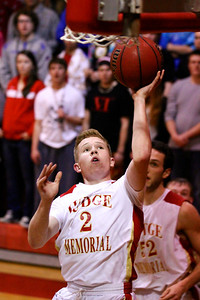 Judge Memorial BB vs Dixie 2-15-2013. Tanner Riley (2)