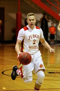 Judge Memorial Boy's Basketball vs Weber • 11-27-2013     13