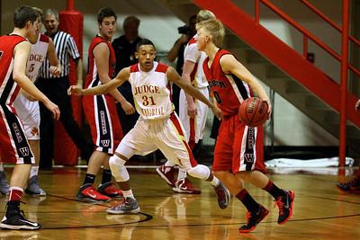 Judge Memorial Boy's Basketball vs Weber • 11-27-2013     11