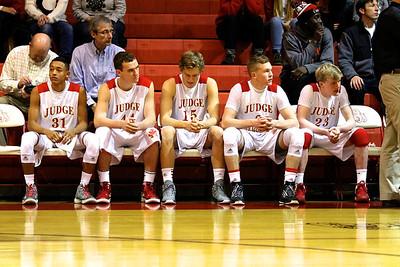 Judge Memorial Boy's Basketball vs Weber • 11-27-2013     1