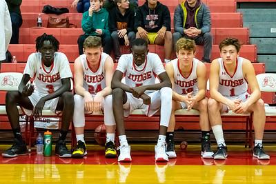 Judge Memorial Boys Basketball, Got Daw, Dom Burns, Deng Mayar, Jack Terrill, Tomas Young