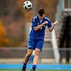 Boys Varsity Soccer:  Braintree defeated Newton North 1-0 on October 29, 2019 at Braintree High School in Braintree, Massachusetts.