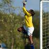 Newton North girls varsity soccer defeated Brookline 4-0 on October 20, 2011, at Skyline Field in Brookline, Massachusetts.