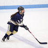 Needham Girls Varsity Hockey defeated Brookline 8-0 on December 12, 2012, at Walter Brown Arena in Boston, Massachusetts.