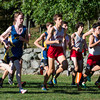Brookline Boys Varsity Cross Country defeated  Needham on September 18, 2013, at Larz Anderson Park in Brookline, Massachusetts.