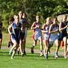 Needham Girls Varsity Cross Country defeated  Brookline on September 18, 2013, at Larz Anderson Park in Brookline, Massachusetts.