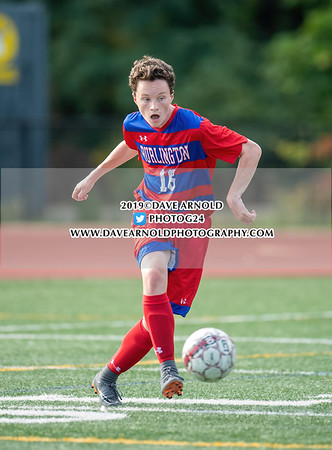 Boys Varsity Soccer: Waltham defeated Burlington 4-1 on September 23, 2019 at Burlington High School in Burlington, Massachusetts.