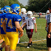 Team Captains and the Coin Toss - Wednesday, August 28, 2013 - Canal Winchester Indians at Olentangy Braves - Freshmen Football