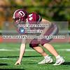 JV Football: Dedham defeated Canton 7-6 on October 21, 2019 at Dedham High School in Dedham, Massachusetts.