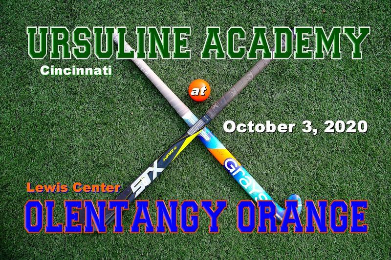 Cincinnati Academy High School Lions at Olentangy Orange High School Pioneers - Saturday, October 3, 2020