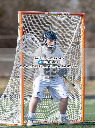 Boys JV Lacrosse: BC High defeated Cohasset 9-6 on April 2, 2019 at Cohasset High School in Cohasset, Massachusetts.